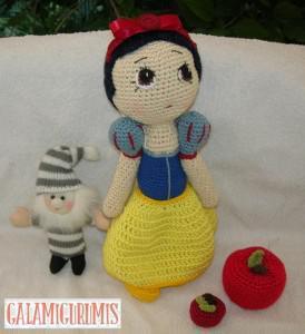 Muñeca Blancanieves