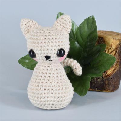 donpatron - Gato kawaii, patrón amigurumi.