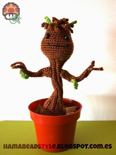 Baby Groot - Amigurumi