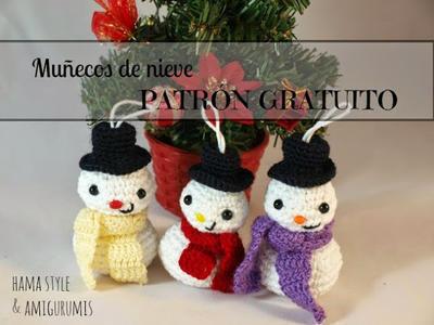 Muñecos de Nieves