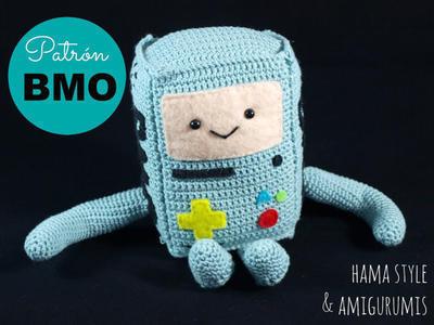 Patrón B.M.O. Hora de Aventuras - Crochet Amigurumi