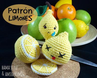 Patrón limones
