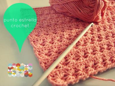 Punto Estrella en Crochet