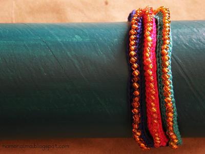 Tutorial Pulseras de Crochet