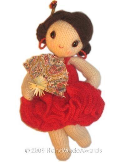 Carmen muñequita flamenca