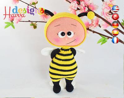PATRÓN - Bonnie con traje de la abeja
