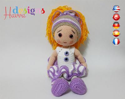 PATRÓN - Eva Doll (ganchillo, amigurumi)