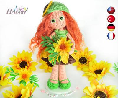 PATRÓN - Muñeca Sunfower
