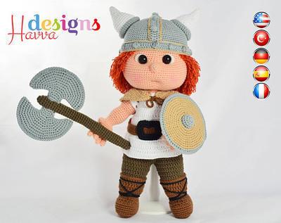 Patrón - Tommy con traje de vikingo