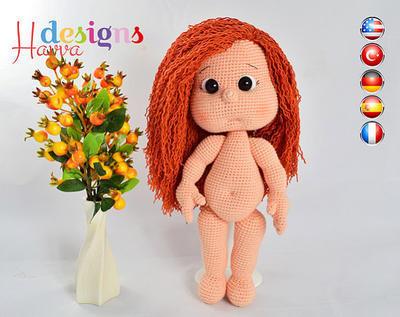 Patrón Viste a tu muñeca Mia (Maniqui)