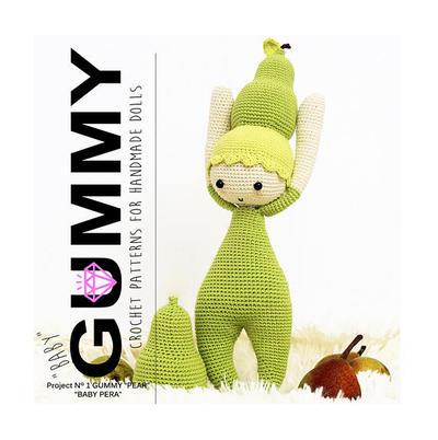 Baby Gummy Pear. Patrón de crochet