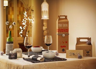 Decora tu mesa de Navidad con Lanas Katia