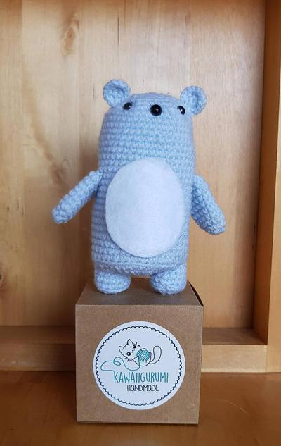 PATTERN oso polar /  kawaii amigururmi crochet