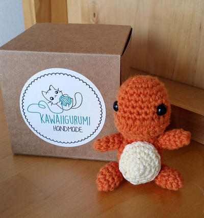 PATTERN pokemon Carmander kawaii amigurumi
