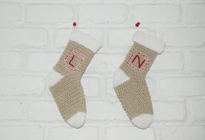 Calcetines navideños con calidad Mónaco de Katia