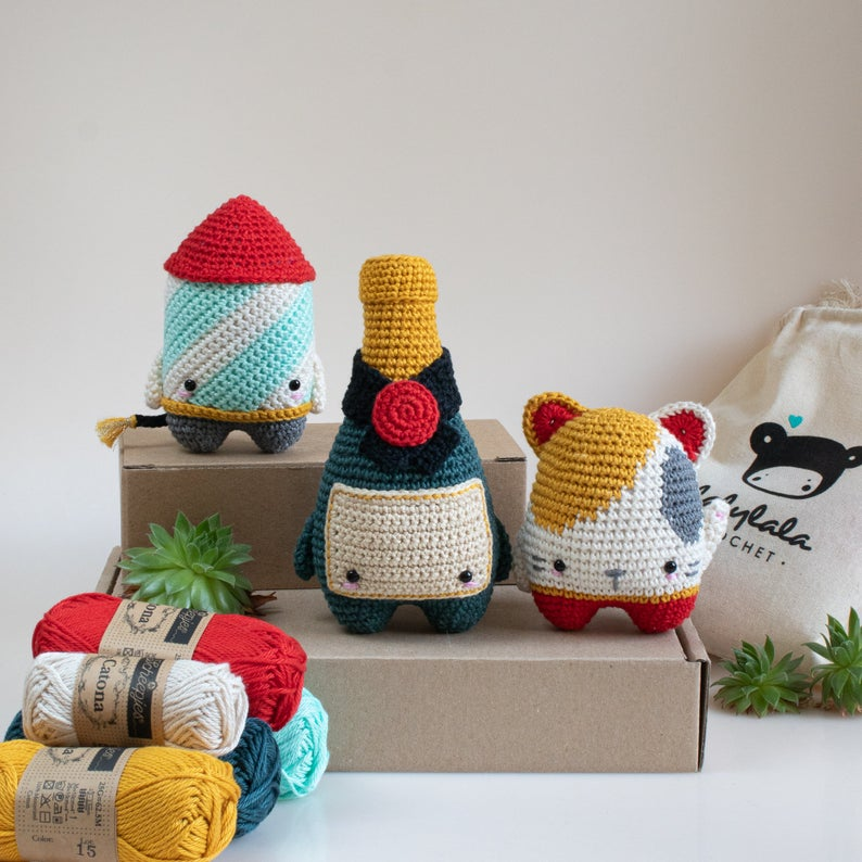 Lucky Cat Free Crochet Pattern | 794x794