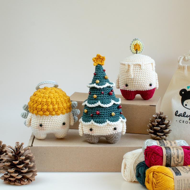 cosicasraquel: DIY Árbol de Navidad a Crochet | 794x794