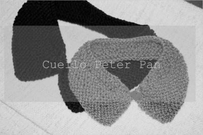 Cuello Peter Pan