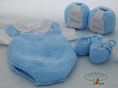 Ranita y patucos para bebé de 1 a 3 meses
