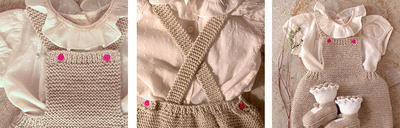 Pelele Bebé con botones