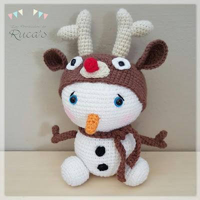 Muñeco de Nieve Rudolph