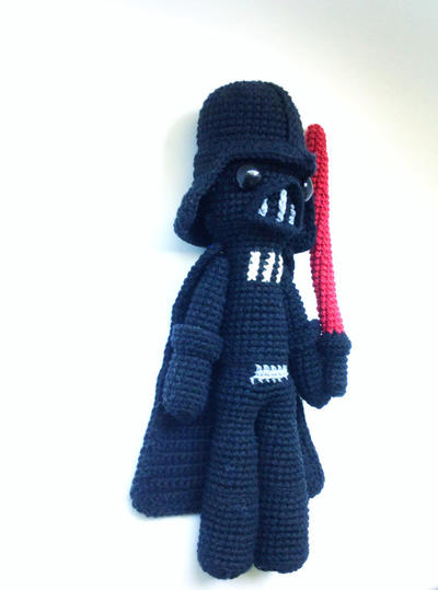 Darth Vader Patrón de Ganchillo / Crochet