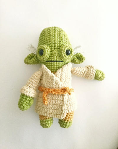 Amigurumi Maestro Yoda : donpatron - MAESTRO YODA Patron de Ganchillo