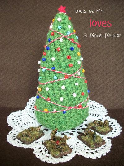Patrón Arbolito Navidad