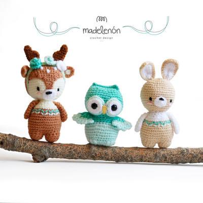 donpatron - Mi Bosque 2 - Patrones animales