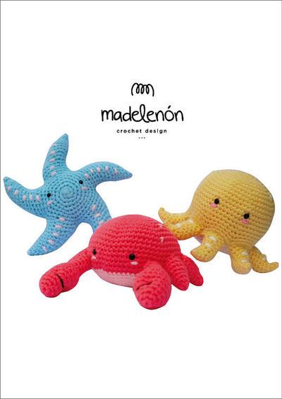 donpatron - Mi Mar 3 - Patrón animalitos del Mar en amigurumi