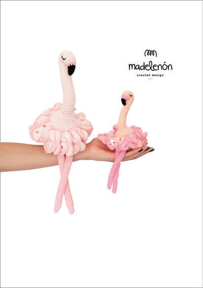 """Patrón de crochet """"Maia"""" flamenco bailarina"""