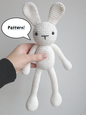 Conejo Kawaii Amigurumi Patron : donpatron - Patron conejo amigurumi