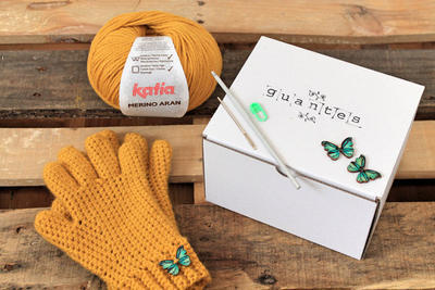 DIY KIT - Guantes a Crochet