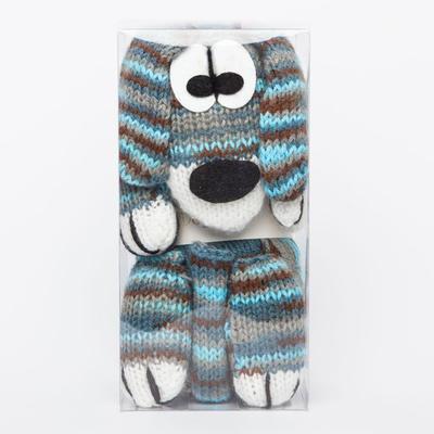 Kit bufanda dog scarf de katia col.52