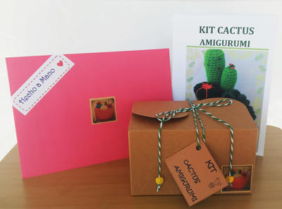 Kit DIY Cactus Amigurumi