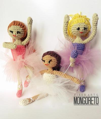 Patrón muñeca bailarina articulada