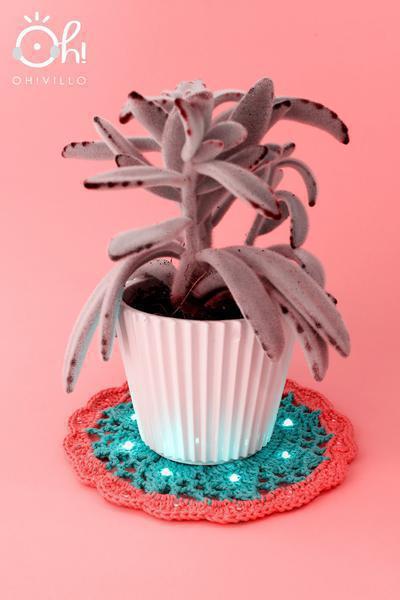 Electro-tapete para planta
