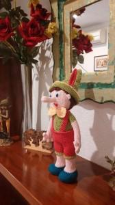 Pinocho Amigurumi