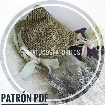 PATRÓN GORRITO GATITO