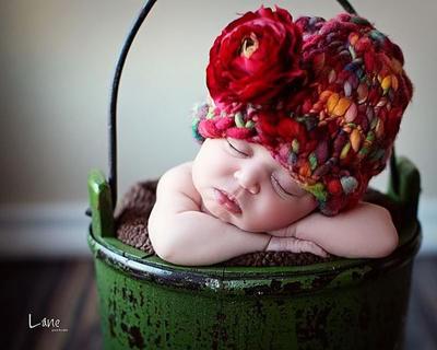 Gorrito para bebé Amelia