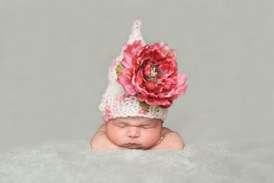 Patrón en español Flower Fairy Hat