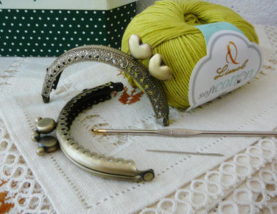 Kit DIY hazte tu propio monedero de crochet
