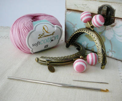 Kit DIY Monedero de Crochet