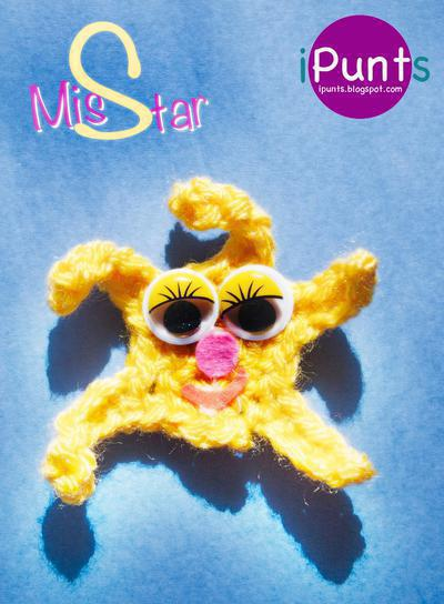 Miss star, estrella de mar coqueta
