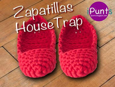 Zapatillas de casa a trapillo