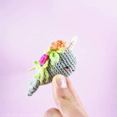 Florencio, el narval al que le crecían flores en la cabeza.
