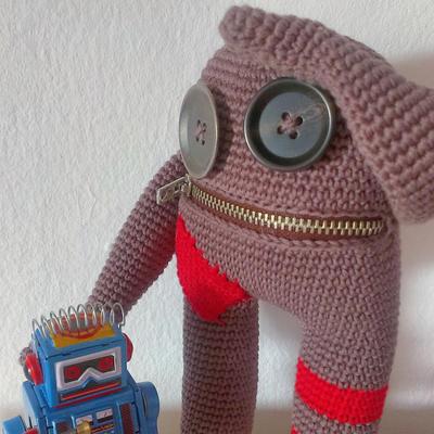 Patrón muñeco amigurumi RustiK #1