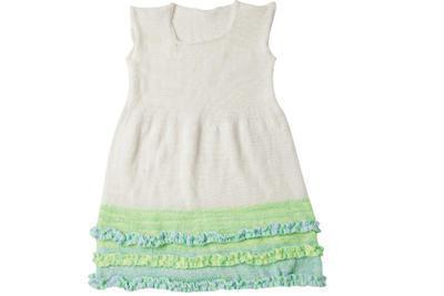 Vestido para niña sin mangas talla 10