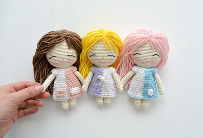 PDF Muñeca de crochet