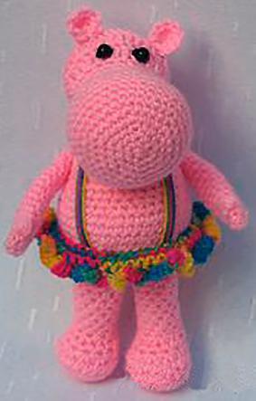 Muñeca Hipopotama Bailarina